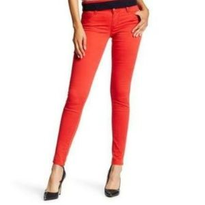 Levi's 710 Super Skinny Jeans Brushed Cherry